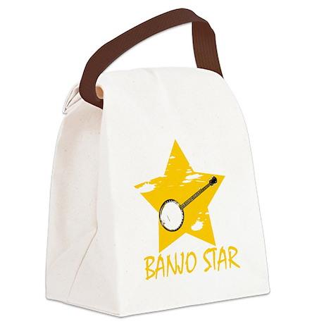 Banjo Star Canvas Lunch Bag