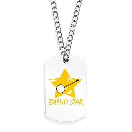 Banjo Star Dog Tags