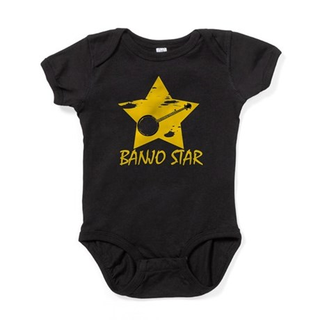 Banjo Star Baby Bodysuit