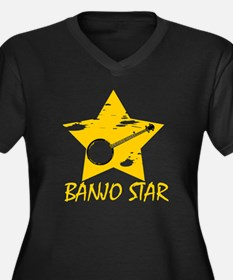 Banjo Star Plus Size T-Shirt