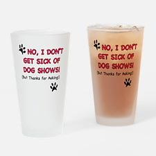 sickpink Drinking Glass