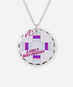 6-PVC...A GIRLS BEST FRIEND  Necklace