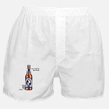 Skydiving Beer Boxer Shorts