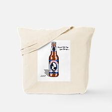 Skydiving Beer Tote Bag