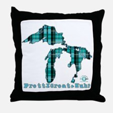 2-greatlakes Throw Pillow