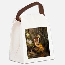 Fairy with fish Canvas Lunch Bag
