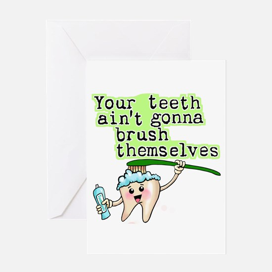 Funny Dental Humor Greeting Card