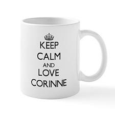 Keep Calm and Love Corinne Mugs