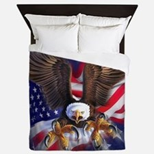 Patriotic Eagle Queen Duvet
