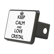 Keep Calm and Love Cristal Hitch Cover
