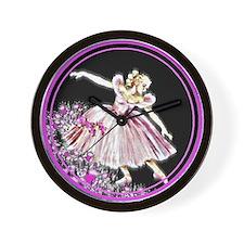 Woman's Ballet #1 - Wall Clock