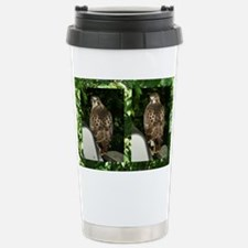PstrMinaHawk12x18(170) Stainless Steel Travel Mug