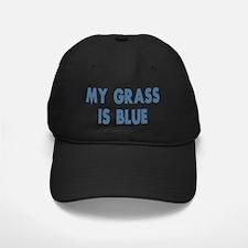 my grass is blue lyn skyn 1 Baseball Hat