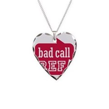 Ref bad call Necklace Heart Charm