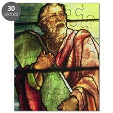 Moses in stained glass Puzzle