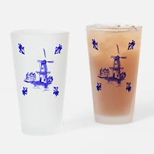 Dutchtile2b Drinking Glass