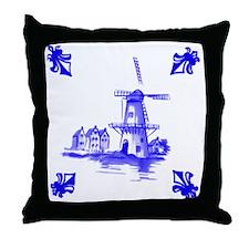 Dutchtile2b Throw Pillow