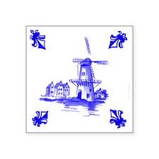 """Dutchtile2b Square Sticker 3"""" x 3"""""""