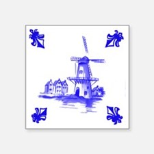 "Dutchtile2b Square Sticker 3"" x 3"""