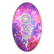 Galaxy Nebula Glitter dreamcatcher  Decal