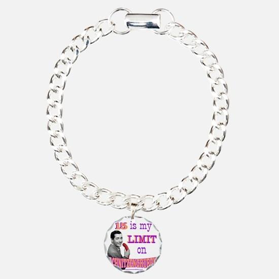 schnitz Charm Bracelet, One Charm