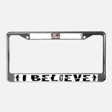 Gone Squatchin rp License Plate Frame