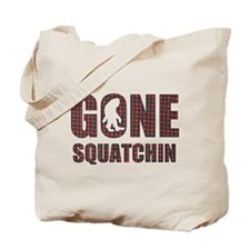 Gone Squatchin rp Tote Bag