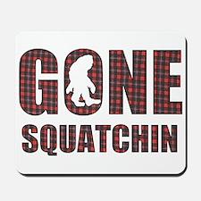 Gone Squatchin rp Mousepad