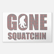 Gone Squatchin rp Decal