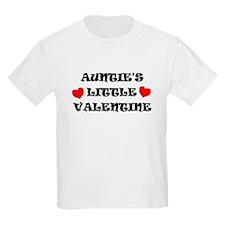 AUNTIE'S LITTLE VALENTINE Kids T-Shirt