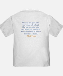 Twain Quote Back T