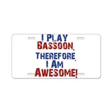 Bassoon copy Aluminum License Plate