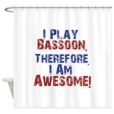 Bassoon copy Shower Curtain