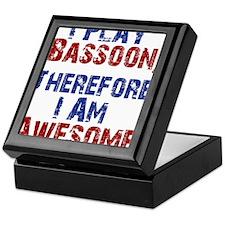 Bassoon copy Keepsake Box