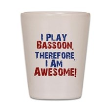 Bassoon copy Shot Glass