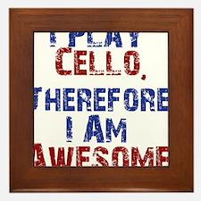Cello copy Framed Tile