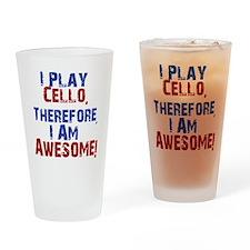 Cello copy Drinking Glass