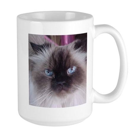 Cat Nutter Butter Baby right Large Mug