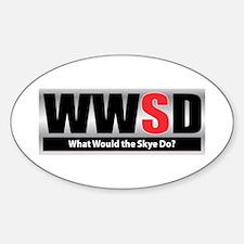 WWSD Oval Decal