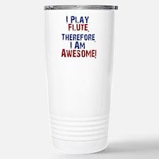 I Play flute Travel Mug