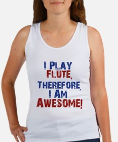 I Play flute Tank Top