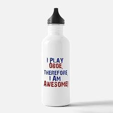 I Play Oboe Water Bottle