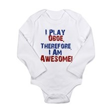 I Play Oboe Body Suit