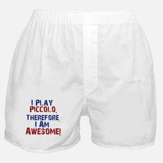 I Play Piccolo Boxer Shorts