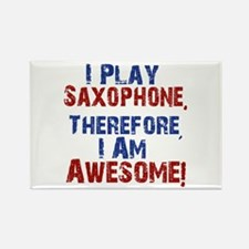 I Play Saxophone Magnets