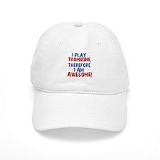 I Play Trombone Baseball Baseball Cap