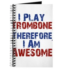 I Play Trombone Journal