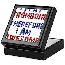I Play Trombone Keepsake Box