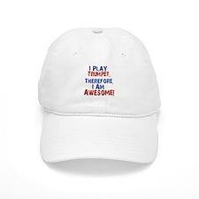 I Play Trumpet Baseball Baseball Cap