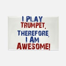 I Play Trumpet Magnets